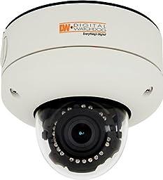 Digital Watchdog DWC-V4382TIR Omni-Plus Outdoor Vandal-Resistant True Day/Night Dome Camera, 3x Motorized Zoom, EWDR