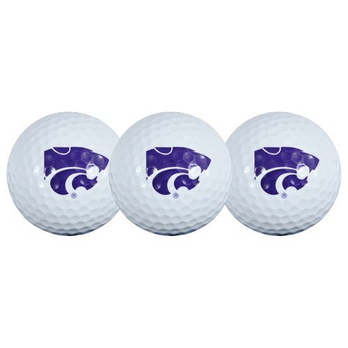 (Team Effort Kansas State Wildcats Golf Ball 3 Pack)