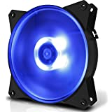 Cooler Master MasterFan MF120L Blue LED PCケースファン  FN1162 R4-C1DS-12FB-R1