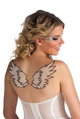 Angel Wings Glitter Tattoo (Rubies Angel Wings Glitter Tattoo by Rubie's)