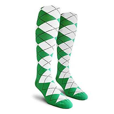 Argyle Golf Socks Over-The-Calf