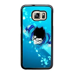 Generic Fashion Hard Back Case Cover Fit for Samsung Galaxy S6 Edge Cell Phone Case black Dragon Ball FEW-7891240