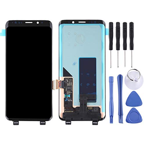 HAOHAOCHENG-WL LCD Screen and Digitizer Full Assembly for Galaxy S9 Accessory Compatible Replacement