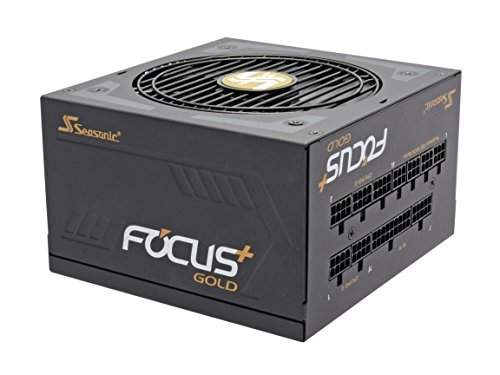 Seasonic FOCUS Plus Series SSR-850FX 850W 80+ Gold ATX12V & EPS12V Full Modular 120mm FDB Fan Compact 140 mm Size Power Supply by Seasonic