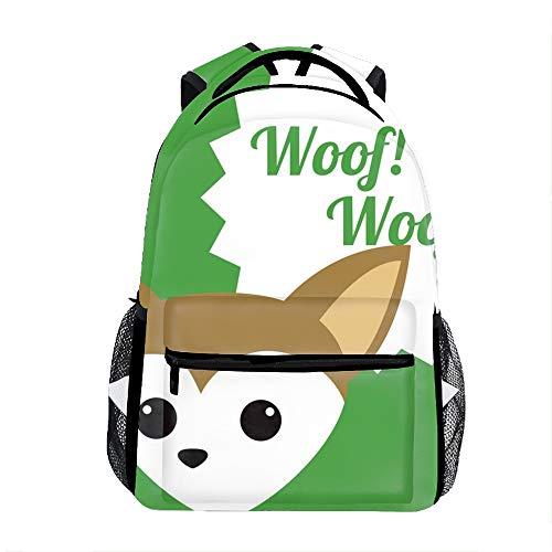 Lightweight Pets Love Design School Backpack Waterproof Book Bag for Girls Teens Kids ()