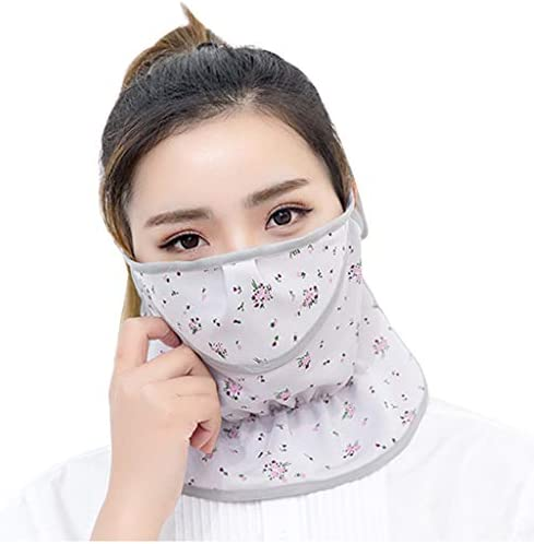 Cotton Mouth Masks Sun Mask Face Scarf Mouth Cover Dust UV Protection Breathable Masks Outdoor Mouth Masks for Men Women