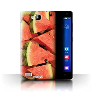 STUFF4 Phone Case / Cover for Huawei Ascend G620 / Watermelon/Sliced Design / Juicy Fruit Collection