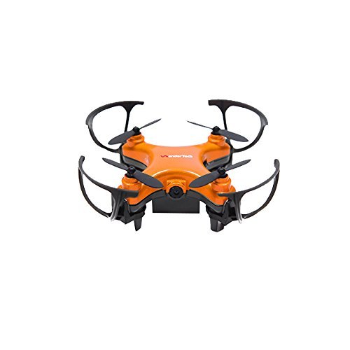 WonderTech Orion Drone With HD Camera 6-Axis Gyro Remote Control Quadcopter Flying Drone | Orange