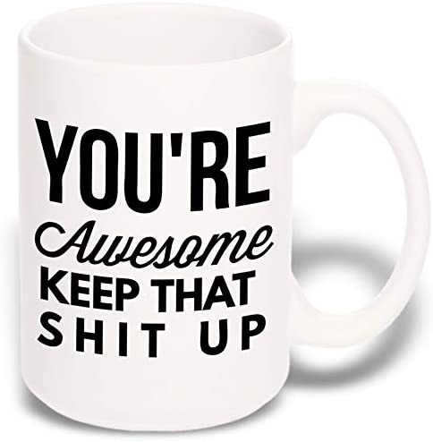 Large Funny Coffee Mug Christmas product image