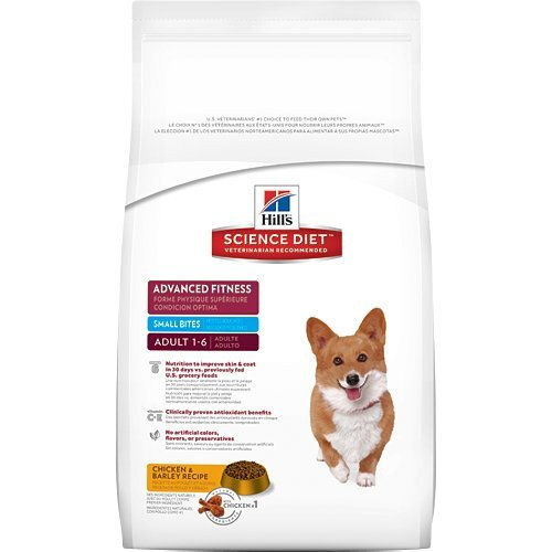 Hill's Science Diet Adult Advanced Fitness Small Bites Dry Dog Food Chicken & Barley Recipe 5 lb bag by General Pet Supply