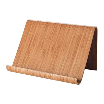 Ikea Soporte de Tablet rimforsa Soporte Soporte De Bambú Ideal como iPad Macizo o para