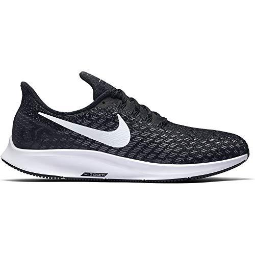 (Nike Men's Air Zoom Pegasus 35 Running Shoe Wide 4E Black/White/Gunsmoke Oil Size 14 Wide 4E)