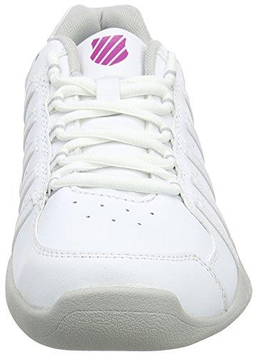 Donna Da Tennis Receiver Performance Carpet swiss silver white veryberry K Iii Bianco Scarpe AfU8wp