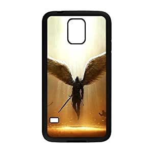 ADCASE Case Of Angel Customized Case For SamSung Galaxy S5 i9600