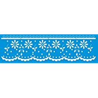 Stencil para Pintura Litoarte Azul Pacote de 3