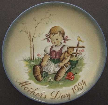 Schmid Mothers Day Plate - 4