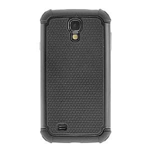 Bkjhkjy Detachable Hybrid Impact Hard Case Cover + Inner Soft Silicone Case for Samsung Galaxy S4 i9500 , Blue
