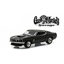 """1969 Ford Mustang Boss 429 """"Gas Monkey Garage"""" (2012-Current TV Series) in Blister Pack 1/64 by Greenlight 44720 D"""
