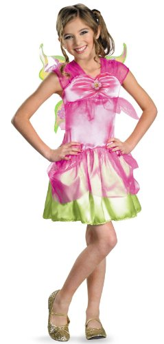 Winx Club Costumes - Disguise Inc - Winx Club Flora Classic Child Costume - 10/12