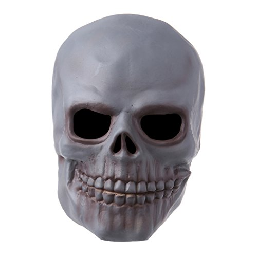 Yumian Halloween Latex Skull Mask Full Face Fancy Dress Cosplay Masquerade (Cod Ghosts Keegan Costume)
