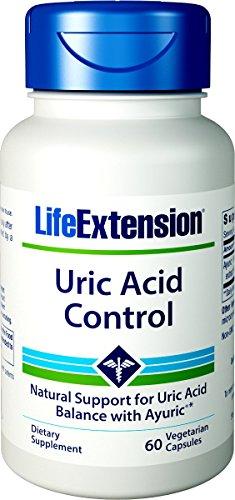 Life Extension Uric Acid Control 60 Vegetarian Capsules