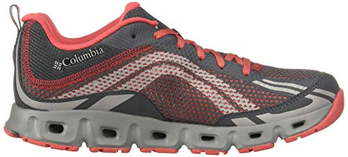 De Senderismo Columbia Drainmaker 053 Iv Rojo Mujer Red graphite 42 Zapatillas Para Eu Coral rwStpSx