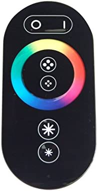 10 Meter RGB LED Streifen Set (60 LED/m, IP65) inkl. Controller, Funkfernbedienung und 12 A Netzteil