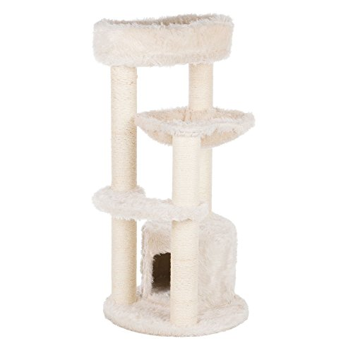 Trixie Pet Products Baza Junior Scratching Post, Cream