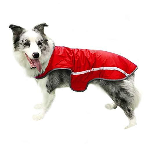 RSHSJCZZY Pet Windproof Waterproof Coats Reversible Reflective Soft