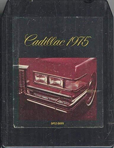 Cadillac 1975 Car Demo Tape 8 Track Tape