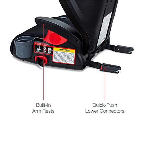 41TgBZ0%2BDNL - Britax Skyline 2-Stage Belt-Positioning Booster Car Seat - Highback And Backless | 2 Layer Impact Protection - 40 To 120 Pounds, Dusk
