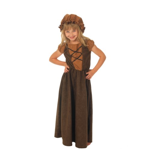 Charlie Crow Little Nell Costume for Kids 10-12 Years ()