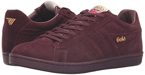 Equipe Sneaker burgundy Suede Uomo Gola burgundy Rot qaBxdw