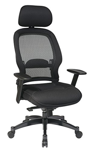 space-seating-airgrid-dark-back-and-padded-black-mesh-seat-2-to-1-synchro-tilt-control-adjustable-ar