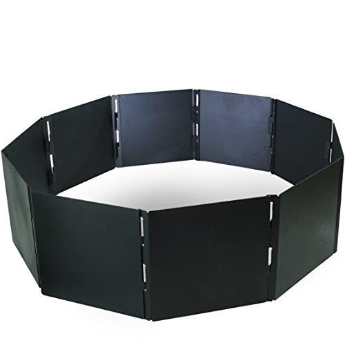 - Titan Attachments Campfire Portable Fire Pit Ring 48