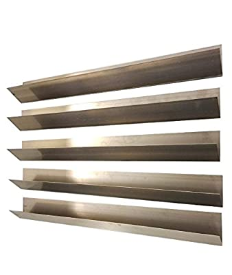 Household Supplies & Cleaning NEW 5 Stainless Steel Flavorizer Bars fits Weber Grills # 7535, 21.5 x 1.875 x 1.87 SHIP FROM USA