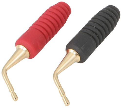 Monster Twist Crimp Toolless Angled Gold Pin Speaker Cable C