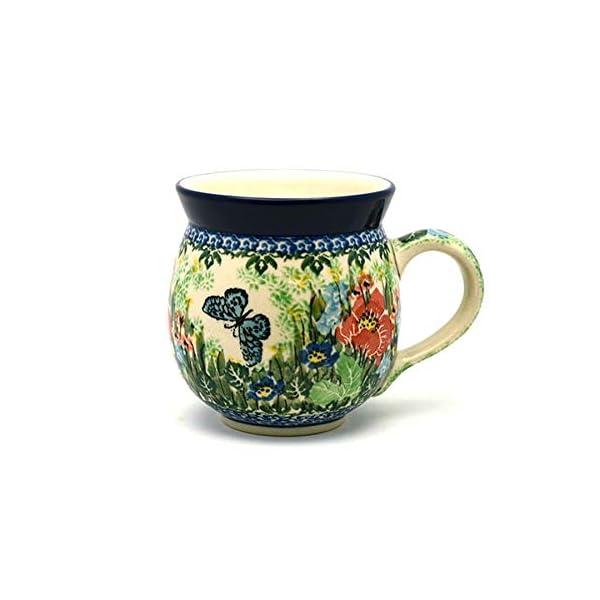 Polish Pottery Mug – 11 oz. Bubble – Unikat Signature U4553