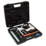 Eastwood Auto Body Paintless Dent Removal Tools Kit Glue Gun Dent Lifter Bridge Puller Nylon Scraper Set for Car Hail Damage