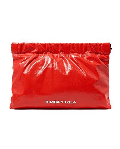 Bimba y Lola Donna Red leather envelope bag 181BBAL1V Venta Barata Buscando Buena Venta Libre Del Envío Rpeit