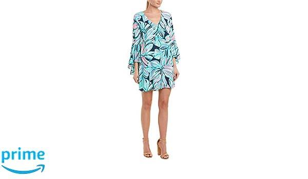 cd8d5d320e20c1 Lilly Pulitzer Women's Rosalia Dress High Tide Navy Dancing Lady 4 at  Amazon Women's Clothing store: