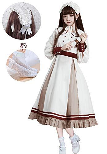 [로리타 의상] 긴 소매 원피스