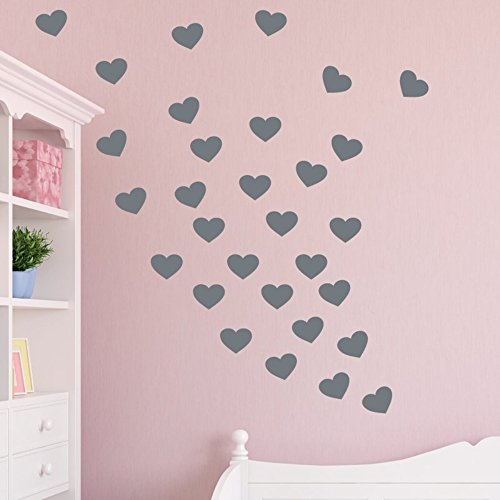 Vinyl Wall Lettering Stickers Quotes and Saying Hearts Desire Bedroom for The Living Room Home -