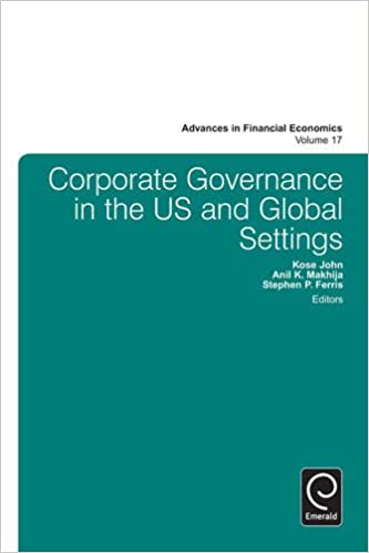 Global Corporate Governance Advances in Financial Economics
