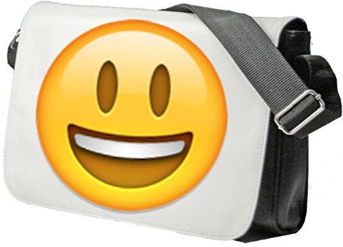 Borsa A Tracolla Borsa Ridere Faccia Con La Bocca Aperta, Sidebag, La Borsa, Il Sacchetto Di Sport, Fitness, Zaino, Emoji, Smiley