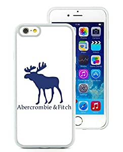 Fahionable Custom Designed iPhone 6 4.7 Inch TPU Cover Case With Abercrombie and Fitch 4 White Phone Case