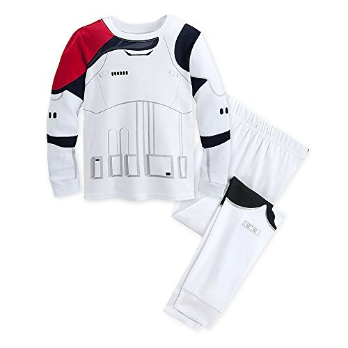 (Star Wars Stormtrooper PJ PALS Pajamas for Kids The Force Awakens Size)