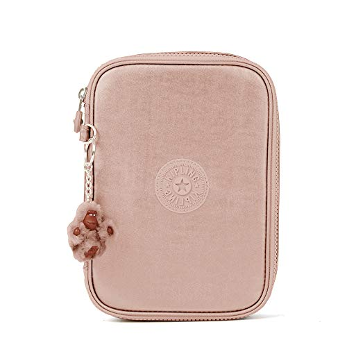 Kipling 100 Pens Metallic Case Rose Gold Metallic