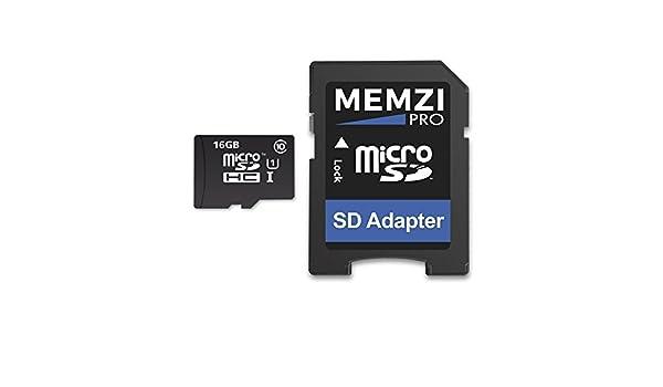 Memzi Pro 16 GB Clase 10 90 Mb/s tarjeta de memoria Micro ...