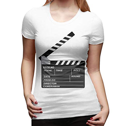 Atwood Louisa Openclipart Women's Short Sleeve T Shirt Color White Size 29